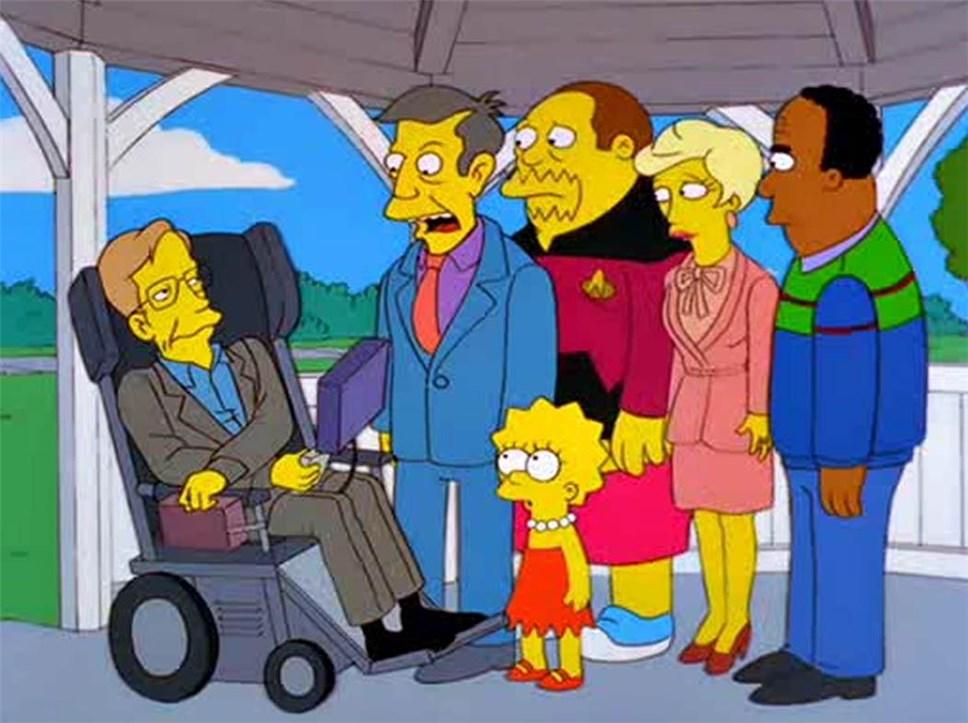 «Симпсоны» посвятили новейшую серию Стивену Хокингу