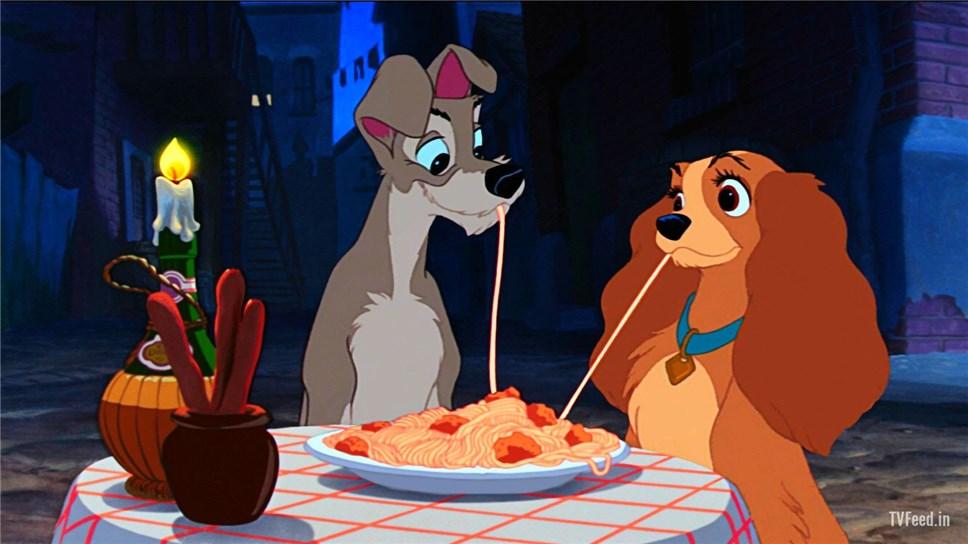 Disney выпустит новейшую  версию мульфильма «Леди иБродяга»