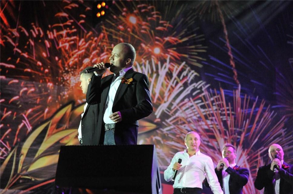 Настоличных вокзалах прошли праздничные концерты вчесть Дня Победы