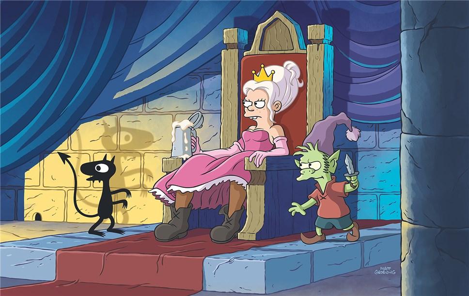 Создатель «Симпсонов» выпустит наNetflix мультипликационный сериал  опринцессе-алкоголичке