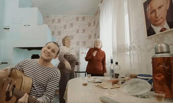 ВИркутске сняли клип очудотворной силе портрета В. Путина