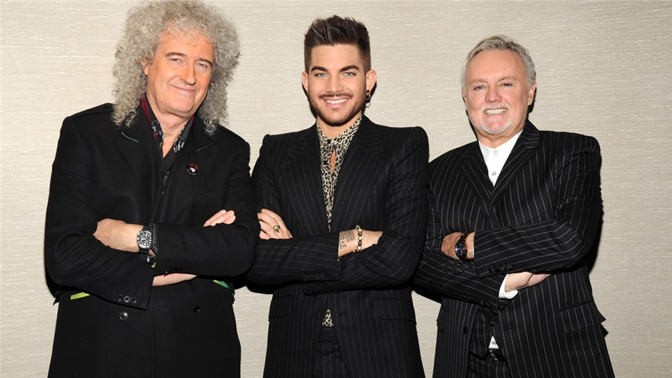 Queen and Adam Lambert. Фото: heartofthecity.co.nz