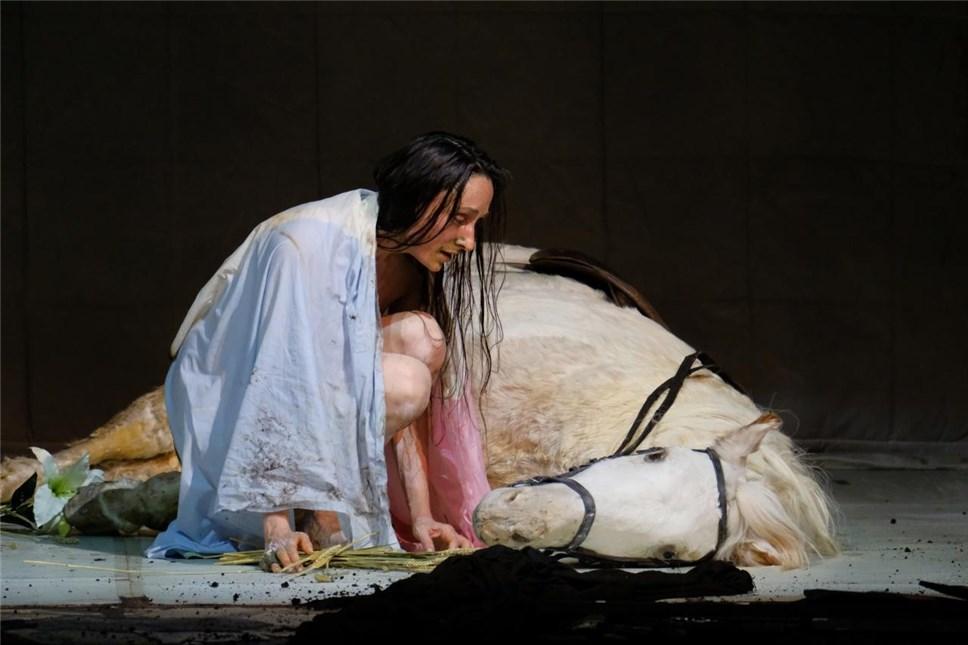 """Жанна Д'Арк на костре"". Фото: Антон Завьялов"