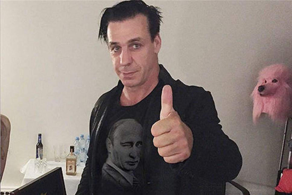 Солист Rammstein посетит чтения собственных произведений в«Гоголь-центре»