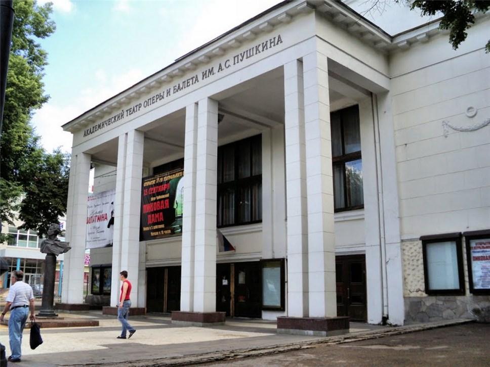 ВНижнем Новгороде открывается Пушкинский фестиваль оперы ибалета