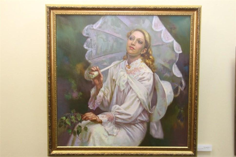 ВОрле открылась выставка художника Николая Силаева