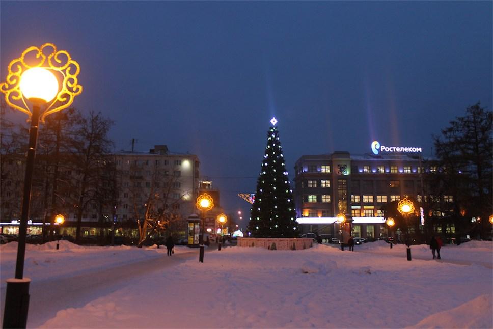 Наплощади Горького открылась главная новогодняя площадка Нижнего Новгорода