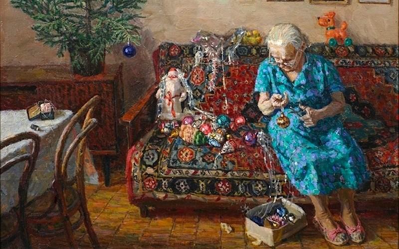 """Фото: Егор Зайцев, """"Рождественская елка"""", 1996"""