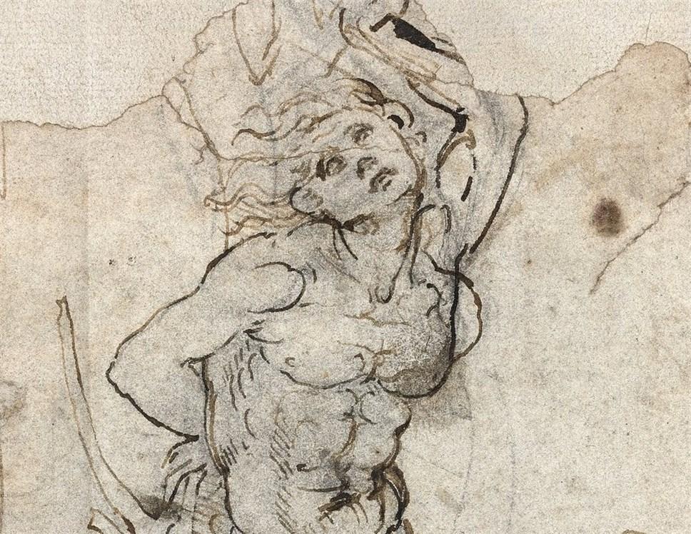 Рисунок Леонардо даВинчи признан общенациональным  достоянием Франции