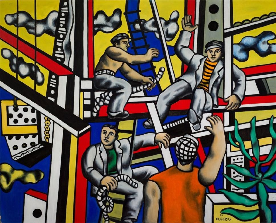 В российской столице открывают выставку образцов послевоенного искусства