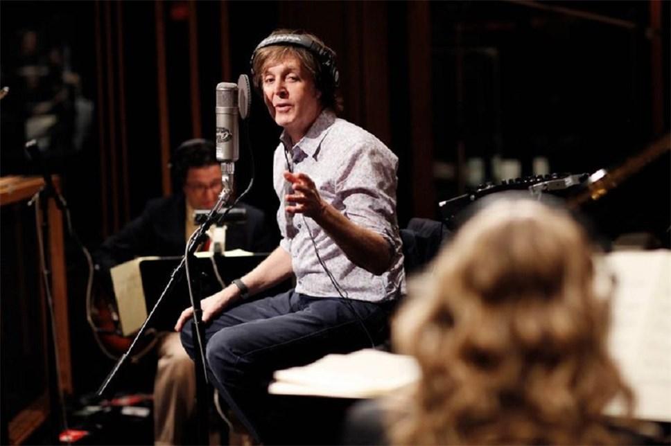 Пол Маккартни работает над новым альбомом