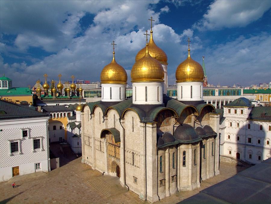 Реставрация Успенского храма Московского Кремля продлится неменее 5-ти лет