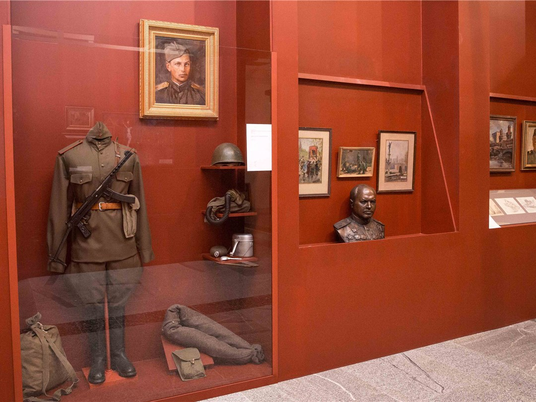 Выставка «Живая летопись войны» открывается вМузее Победы в столицеРФ